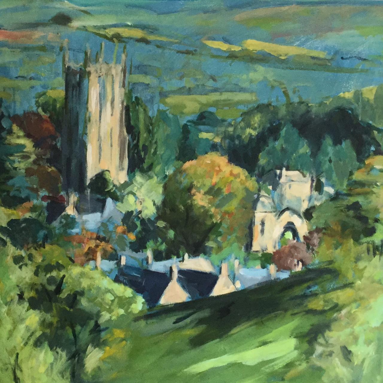 Chipping Campden Church. Acrylic. £350