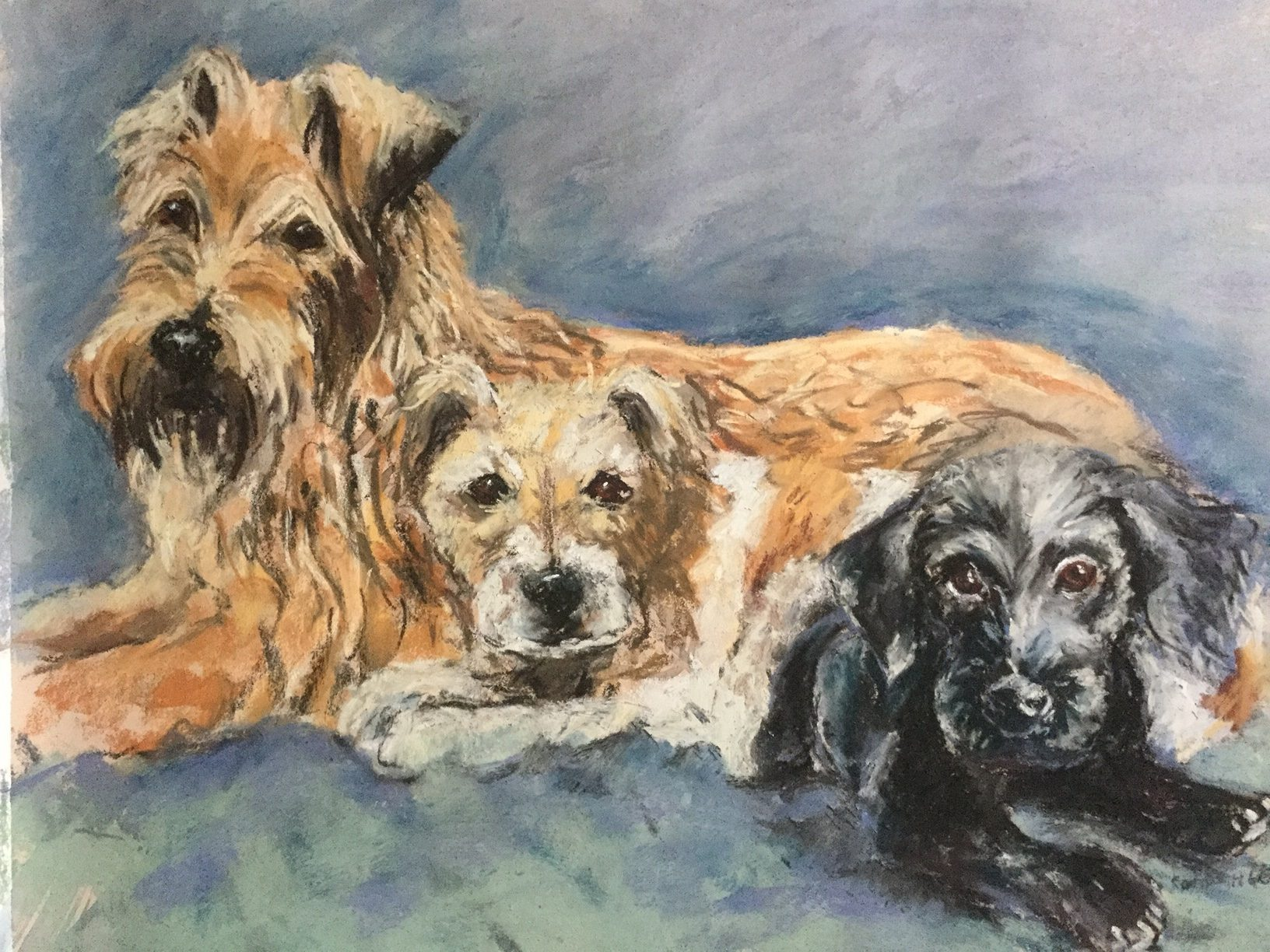 Commissioned Pastel.